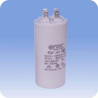 Rozbehový kondenzátor 40 MF pre jednofázové motory čerpadiel