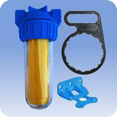Zmäkčovací filter na vodu