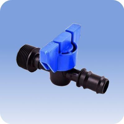 """Adaptér závitový priamy 1/2"""" vonk. x 16mm s ventilom"""