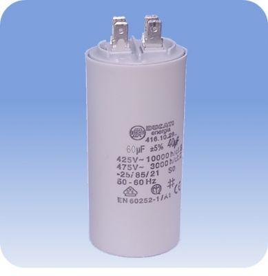 Rozbehový kondenzátor 60 MF pre jednofázové motory čerpadiel