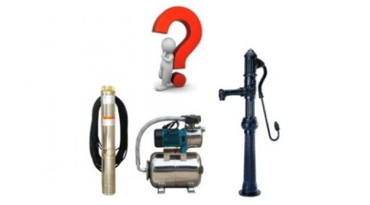Základné zásady pri voľbe typu a výkonu čerpadla pri svojpomocnej montáži